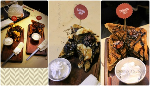 Escuela Restaurant+Cafe Baguio banana nut toast and camp fire toast