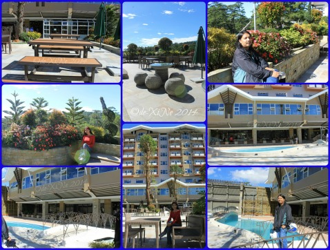 Elements at Newtown Square Plaza Hotel Baguio poolside