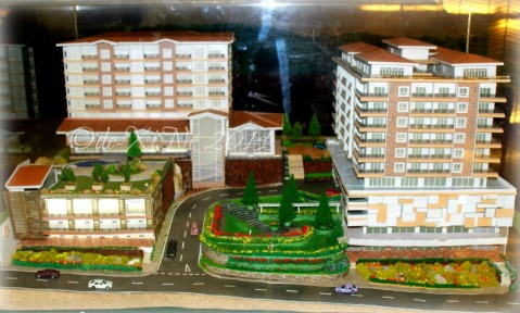 Newtown Square Plaza Baguio scale model 2014