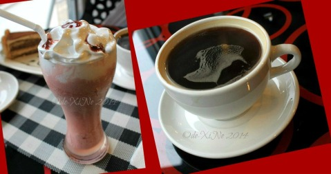 Baguio Travel Sips Coffee Shop cherry berries  and cafe americano