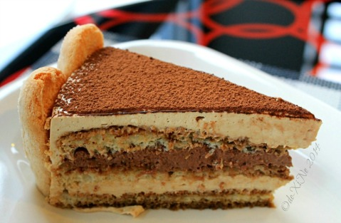 Baguio Travel Sips Coffee Shop tiramisu