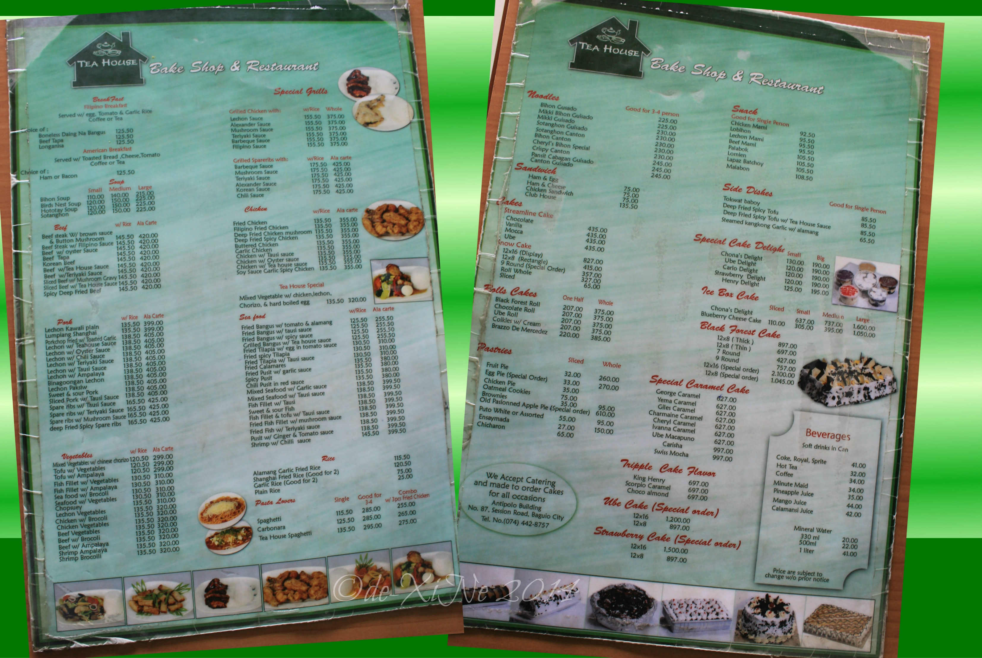 Baguio Dining A La Carte Updated Menus For The Most