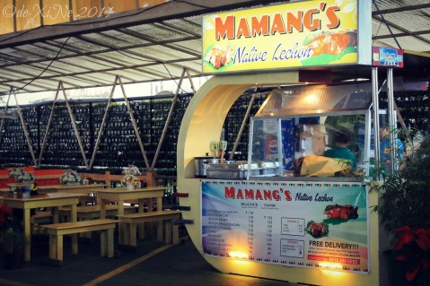 Baguio Mamang's Native Lechon booth
