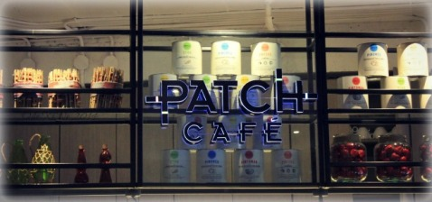 Baguio Patch Cafe sign