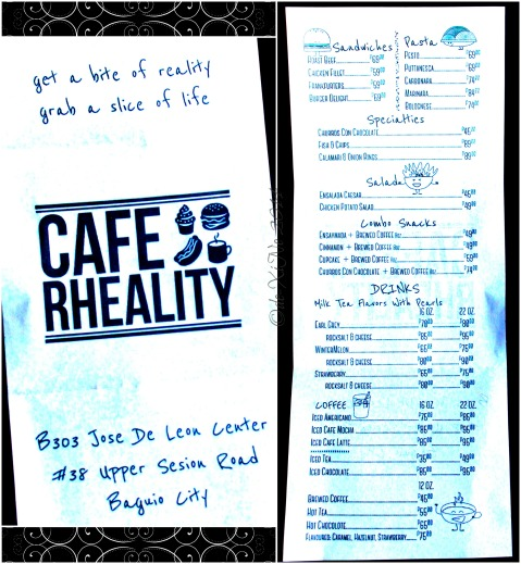 2014-11-10 Baguio Cafe Rheality menu (1)