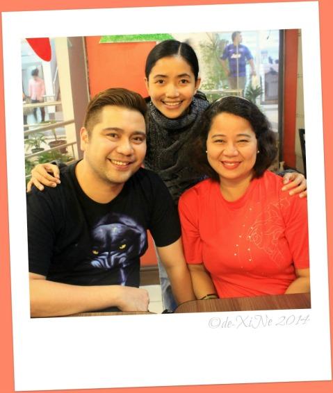 meeting Tita Lea and nephew of Baguio Tita Lea's Malabon Food Specialties