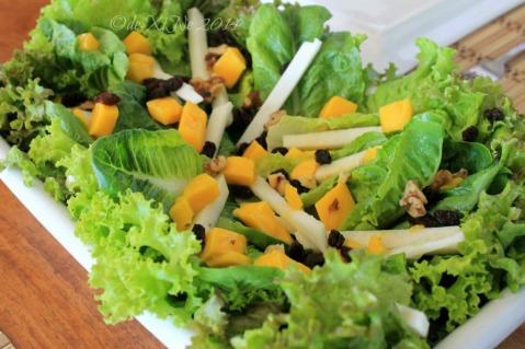 Baguio 777 Tiptop Arca's Yard 2014 salad
