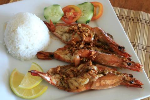 Baguio 777 Tiptop Arca's Yard 2014 prawns