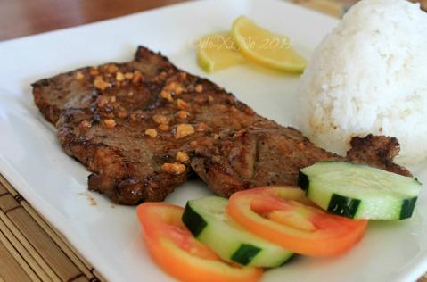 Baguio 777 Tiptop Arca's Yard 2014 pork chop