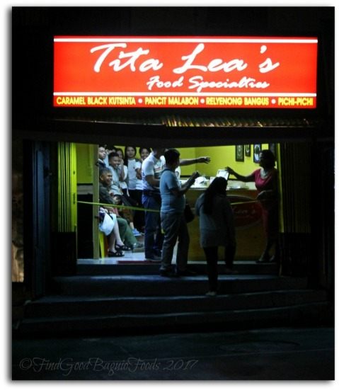 Baguio Tita Lea's Food Specialties pre-order food store 2017