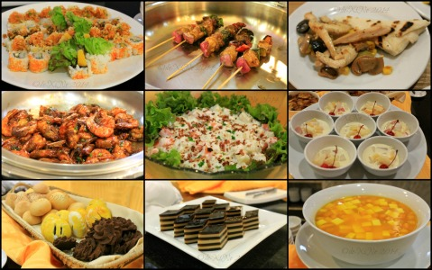 some dishes at Baguio Elements Weekday Dinner Buffet at Newtown Plaza Hotel 2014