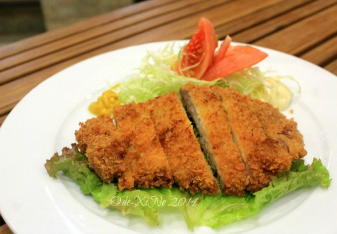 Baguio Chemistry Bar at Newtown Plaza Hotel pork tonkatsu