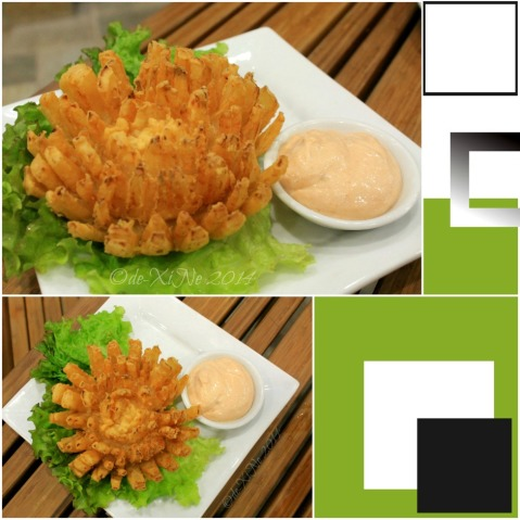 Baguio Chemistry Bar at Newtown Plaza Hotel blooming onions