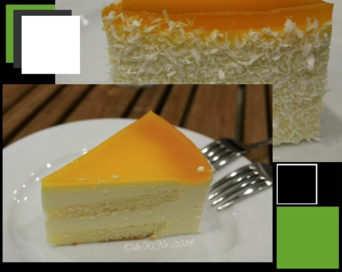 Baguio Chemistry Bar at Newtown Plaza Hotel soy mango cake