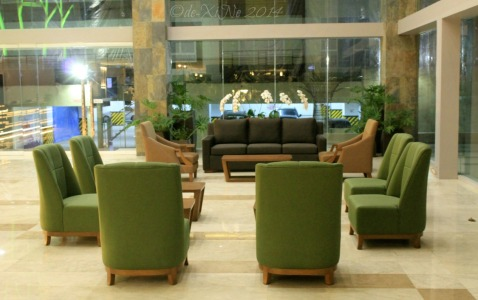Baguio Newtown Plaza Hotel lounge area