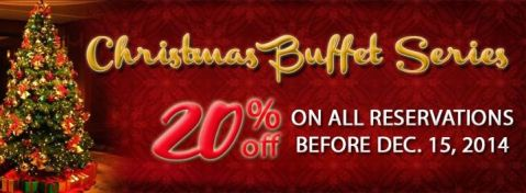 Chalet Baguio Christmas Buffet Series early reservations promo