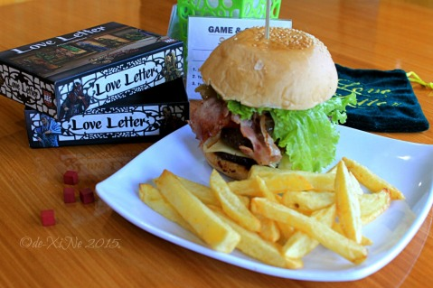 Baguio Game and Grub Boardgame Cafe 2015 smash up burger