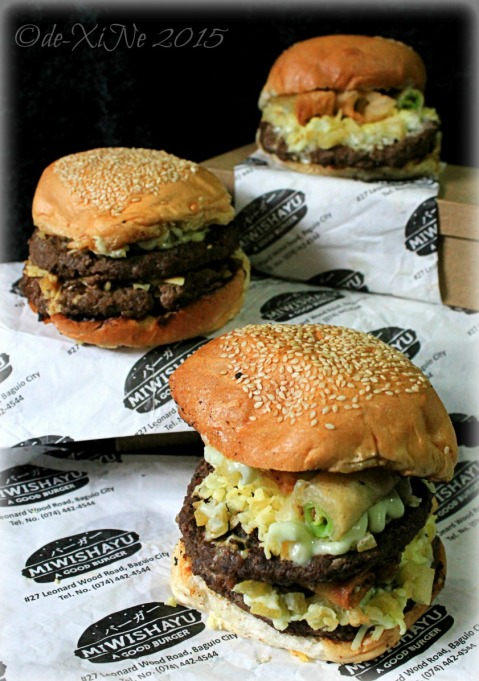 Baguio Miwishayu Burger Stand 2015 wisha, dreaded twain, and monster overload burgers