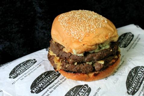 Baguio Miwishayu Burger Stand 2015 Dreaded Twain burger