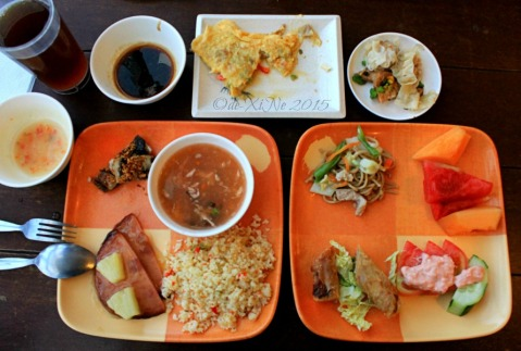 Baguio Buffet Republic restaurant 2015 my breakfast plates
