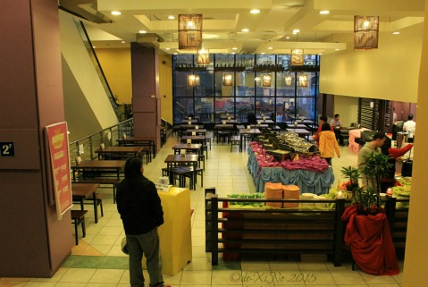 Baguio Buffet Republic restaurant dining area 2015