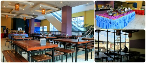 Baguio Buffet Republic restaurant 2015 dining area