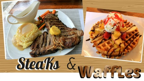 Baguio Pine Country Steaks and Waffles restaurant steaks and waffles