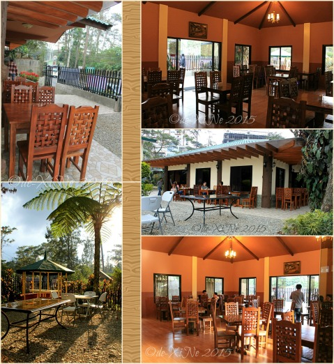 Baguio Pine Country Steaks and Waffles restaurant 2015 inside and outside the resto