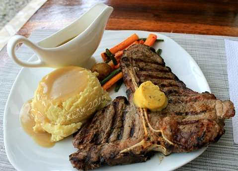 Baguio Pine Country Steaks and Waffles restaurant porterhouse steak