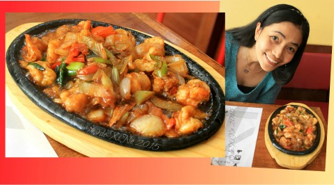 Baguio Pick-A-Pot Asian Fusion restaurant sizzling gambas