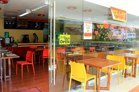 Baguio Pick-A-Pot Asian Fusion restaurant