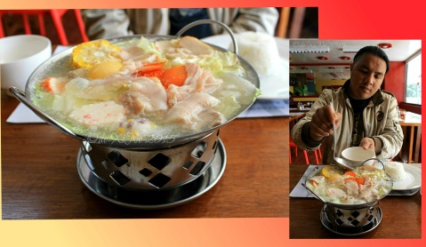 Baguio Pick-A-Pot Asian Fusion restaurant hotpot delight