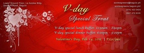 Baguio Azotea Greens Valentines Special 2015
