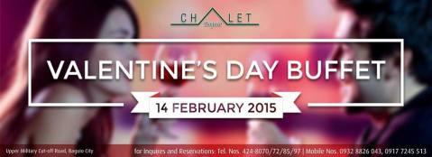 Baguio Chalet-Dulcinea Valentines Special 2015