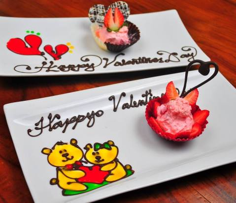 Baguio Forest House 2015 Special Dessert for Valentines