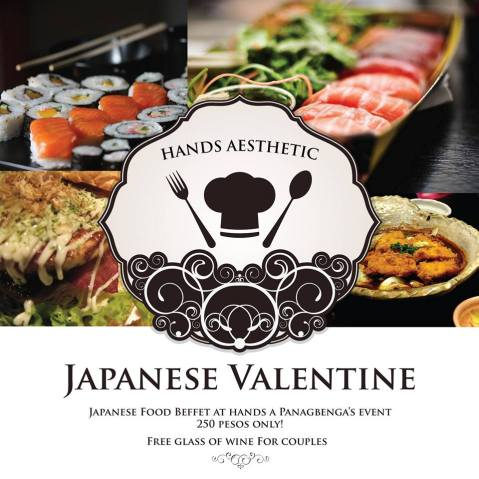 Baguio Hands Aesthetic Cafe Valentines Special 2015