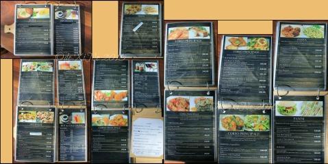 Baguio La Casa Bianca Hotel Spa Cafe 2015 menu