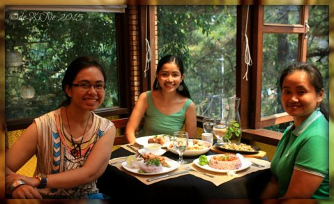 Baguio La Casa Bianca Hotel Spa Cafe 2015 a day with my sister and niece