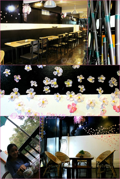Baguio Sakura Terrace by Yamashita Ramen Group  2015 dining area