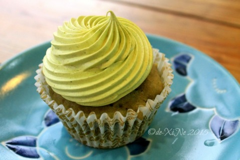 Baguio Teacup and Cake green tea cupcake