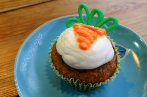 Baguio Teacup and Cake carrot cupcake