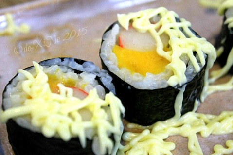 Baguio Sakura Terrace by Yamashita Ramen Group  2015 California mango roll