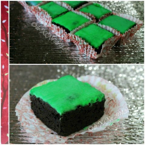 Baguio Teacup and Cake mint brownies