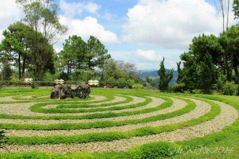 Baguio Mirador Jesuit Villa 2014 Knidos Labyrinth