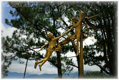 Baguio Mirador Jesuit Villa 2014 Risen Christ calling us to himself