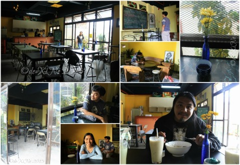 Baguio Bowls and Sticks dining area 2015