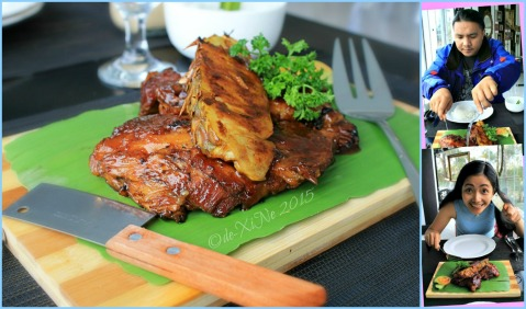 2015-02-23 Baguio Pamana-Hawaiian BBQ original Hawaiian baby back ribs