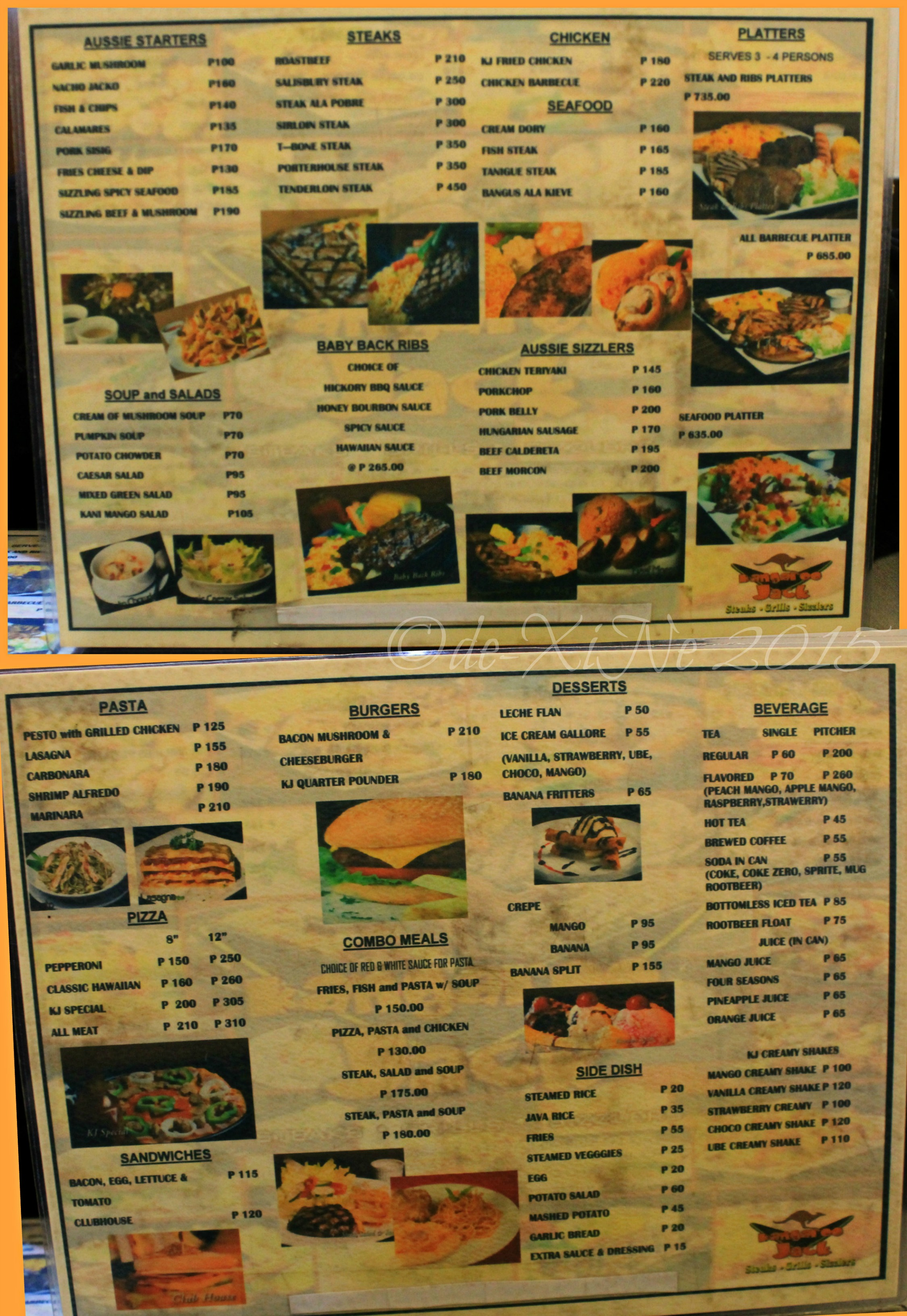 baguio dining a la carte menus from new restos you might like to