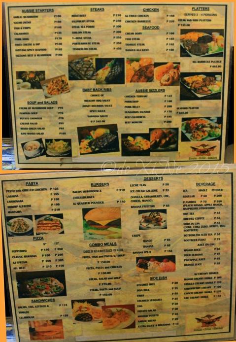 2015-03-12 Baguio Kangaroo Jack menu