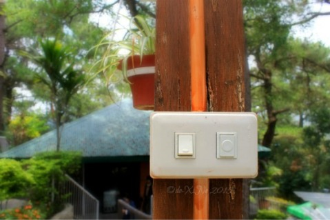 little details at Baguio La Parilla Cafe and Grill at Inn Rocio, buzzer for service 2015